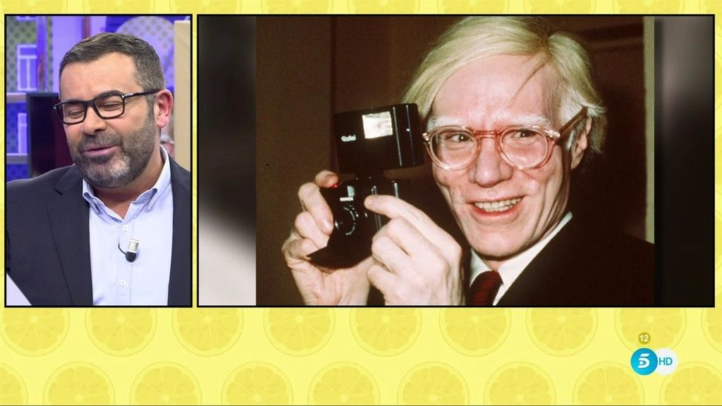 'Sálvame' rinde homenaje a Andy Warhol