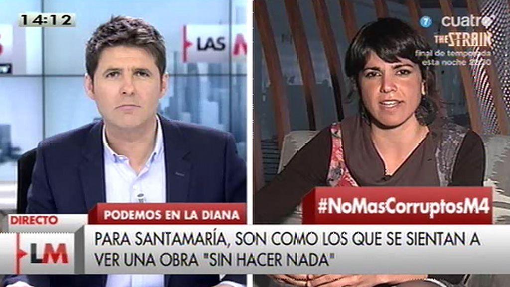 ¿Podría T. Rodríguez ser consejera de Andalucía en un gobierno del PSOE?