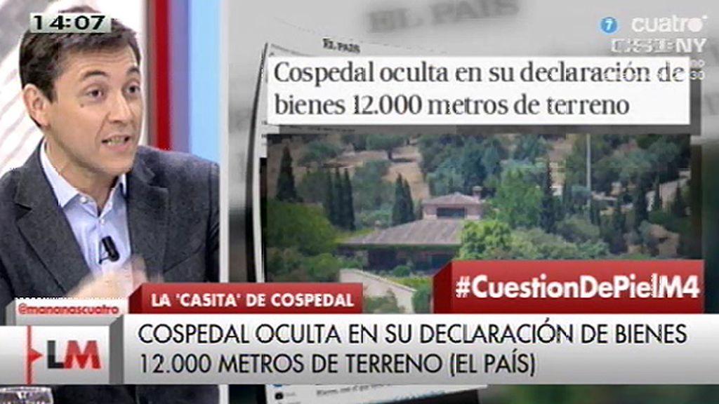 Cospedal oculta en su declaración de bienes 12.000 metros de terreno, según 'El País'