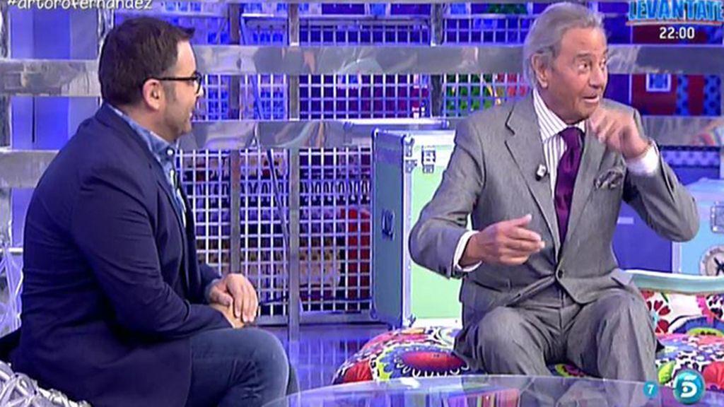 """Arturo Fernández: """"Sálvame es un vodevil, una comedia, un drama, lo tiene todo"""""""