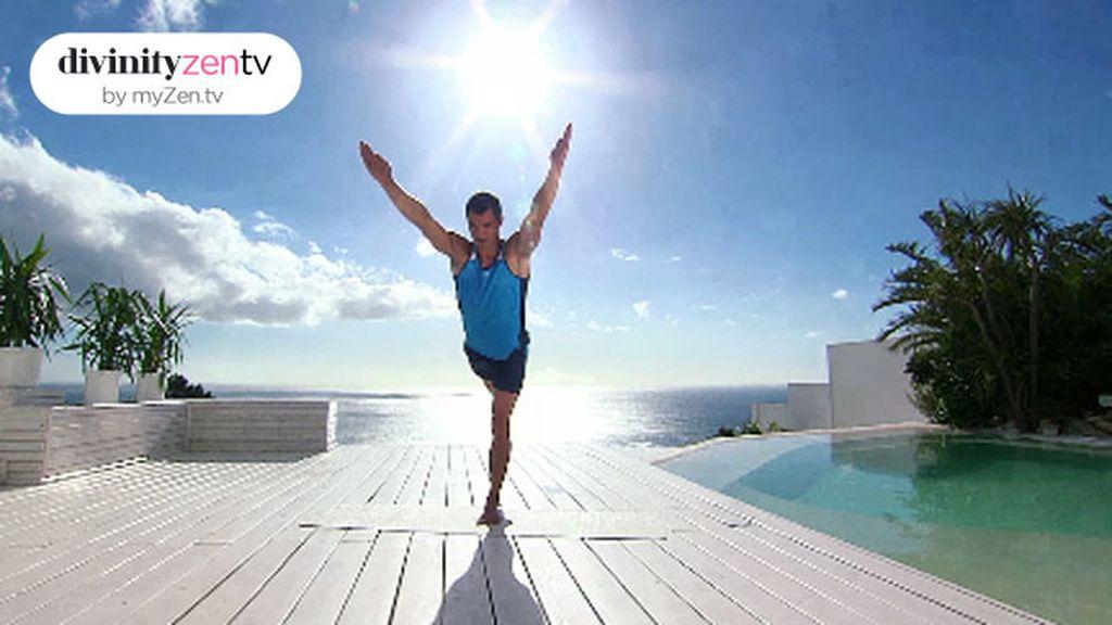 Activa la musculatura de brazos y piernas