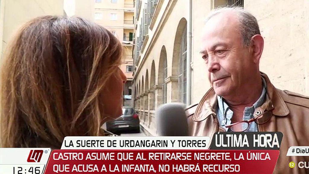 """El juez Castro, sobre el 'caso Nóos': """"Si la sentencia se confirma en el Supremo, tendrá que ejecutarse"""""""