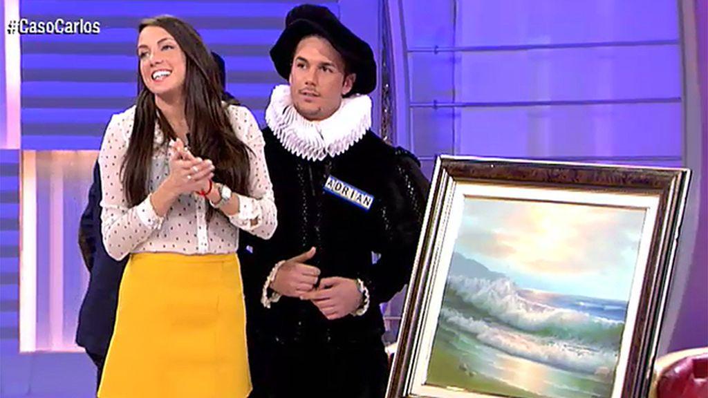 Adrián, un Velázquez con cuadro y todo