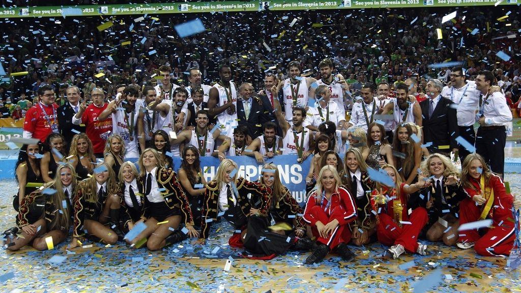 España, campeones de Europa