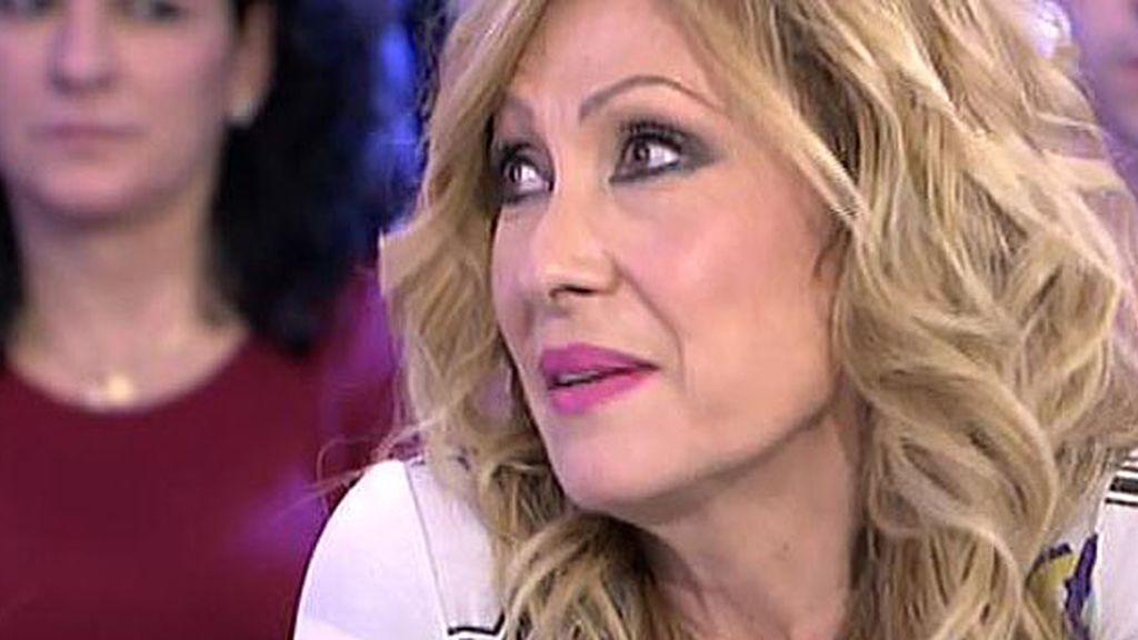 """Rosa, sobre Amador: """"Cuando una persona quiere ver a alguien, la ve"""""""