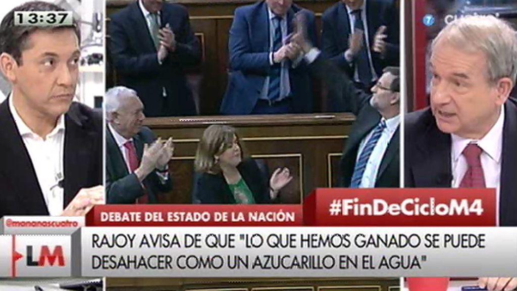 """Apezarena: """"El enemigo del PP no va a ser Podemos, va a ser Ciudadanos"""""""
