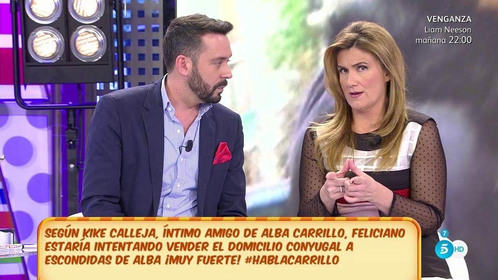 """Kike Calleja: """"Feliciano no solo tiene problemas judiciales con Alba Carrillo"""""""
