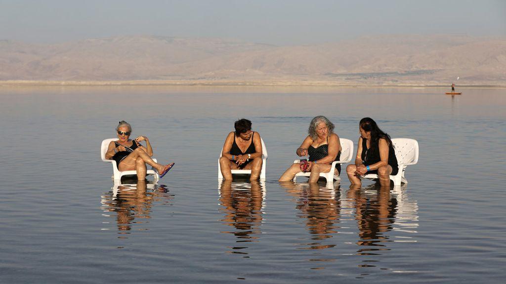 La calma del Mar Muerto