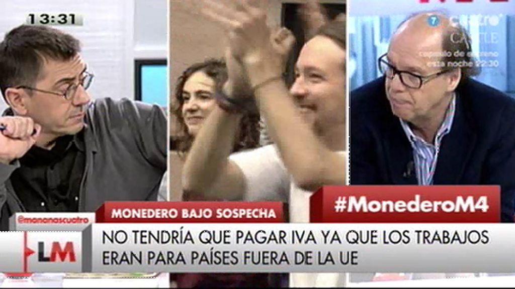 """J. González, a Monedero: """"Quien quiere llevarse por delante los excesos del capitalismo se comporta como un capitalista"""""""