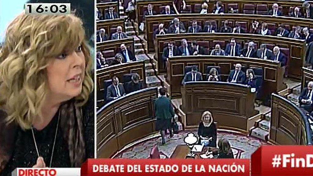 """Rosa María Artal: """"El discurso de Rajoy me ha parecido altamente ofensivo con las personas que lo están pasando mal"""""""