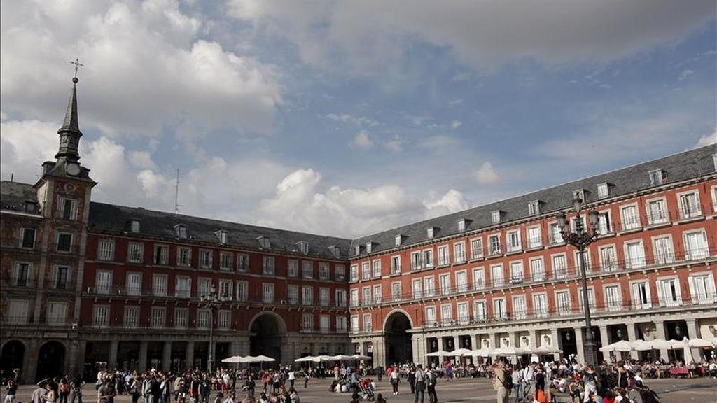 Vista de la Plaza Mayor de Madrid. EFE/Archivo