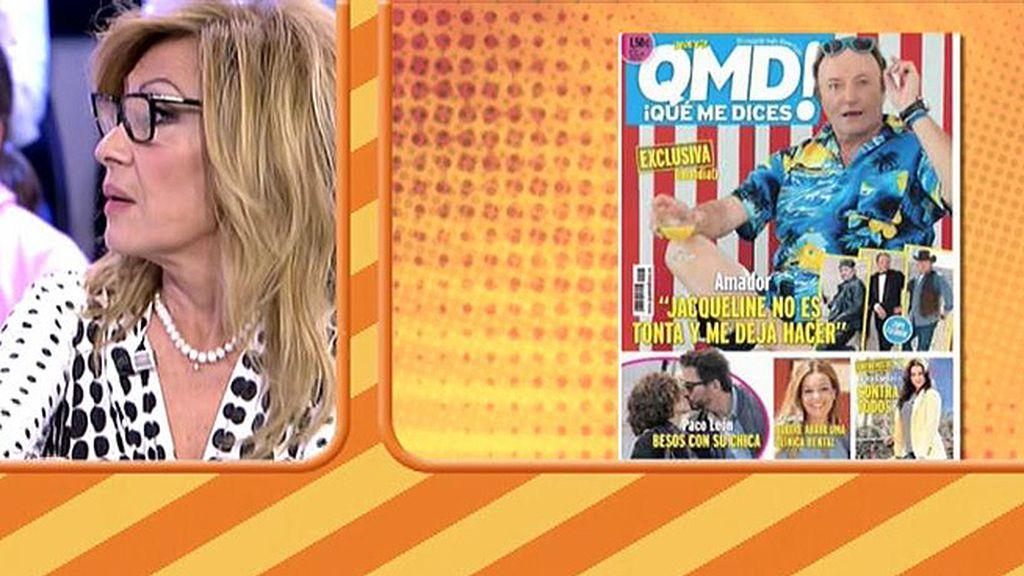 Los looks de Amador Mohedano, en exclusiva en la revista '¡QMD!'