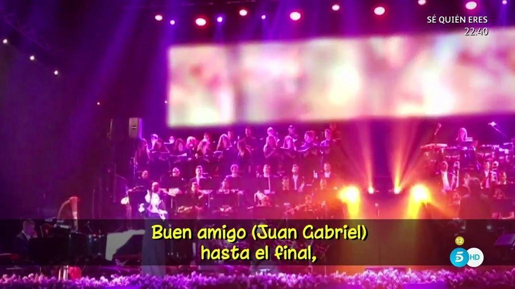 """Isabel Pantoja, de Juan Gabriel: """"Buen amigo hasta el final, no como todos"""""""