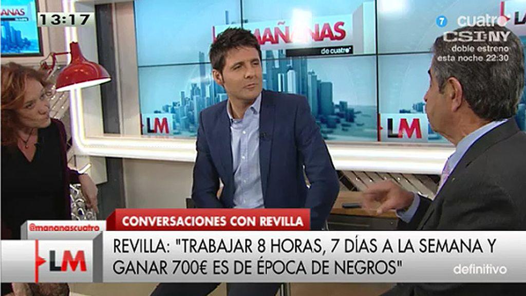 """Miguel A. Revilla: """"El Gobierno contratará a 450.000 personas antes de las elecciones"""""""