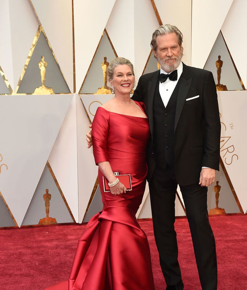 Susan Geston y Jeff Bridges