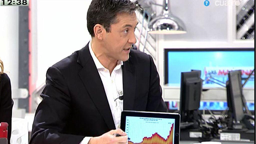 """J. Ruiz: """"Este es el debate contra Podemos"""""""