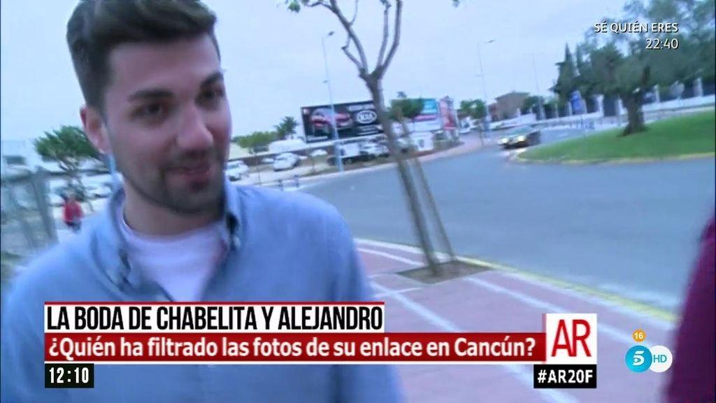La primera reacción de Alejandro Albalá sobre las fotos de la boda con Chabelita