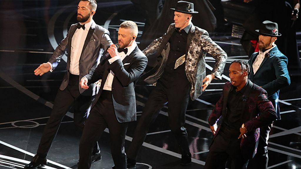 Justin Timberlake abre la gala de los Óscar 2017