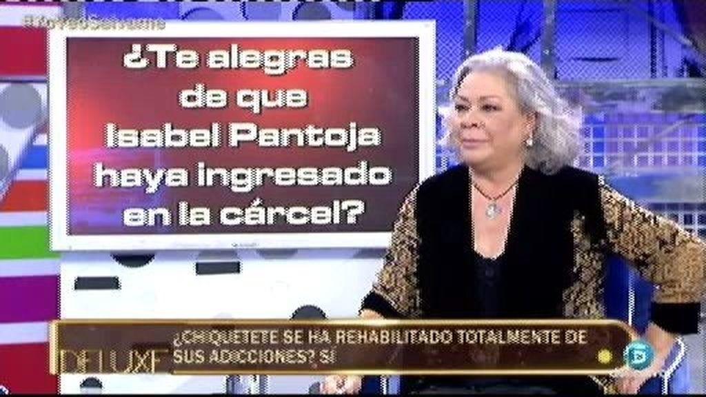 """Carmen Gahona: """"Chiquetete' no habla de su prima Isabel Pantoja, es como si no existiera"""""""