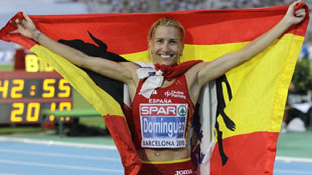 Marta Domínguez, implicada en una red de dopaje en el deporte español. Vídeo: Informativos Telecinco