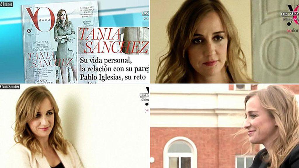 Así se hizo el reportaje de Tania Sánchez para la revista 'Yo Dona'