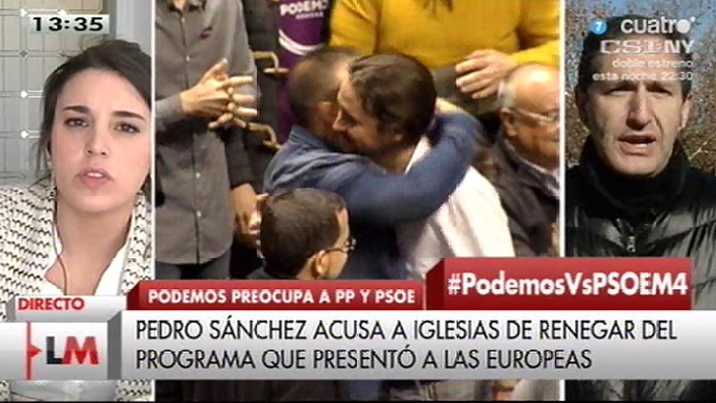 """José Cepeda (PSOE): """"Creo que la gente le está viendo el plumero a Podemos"""""""