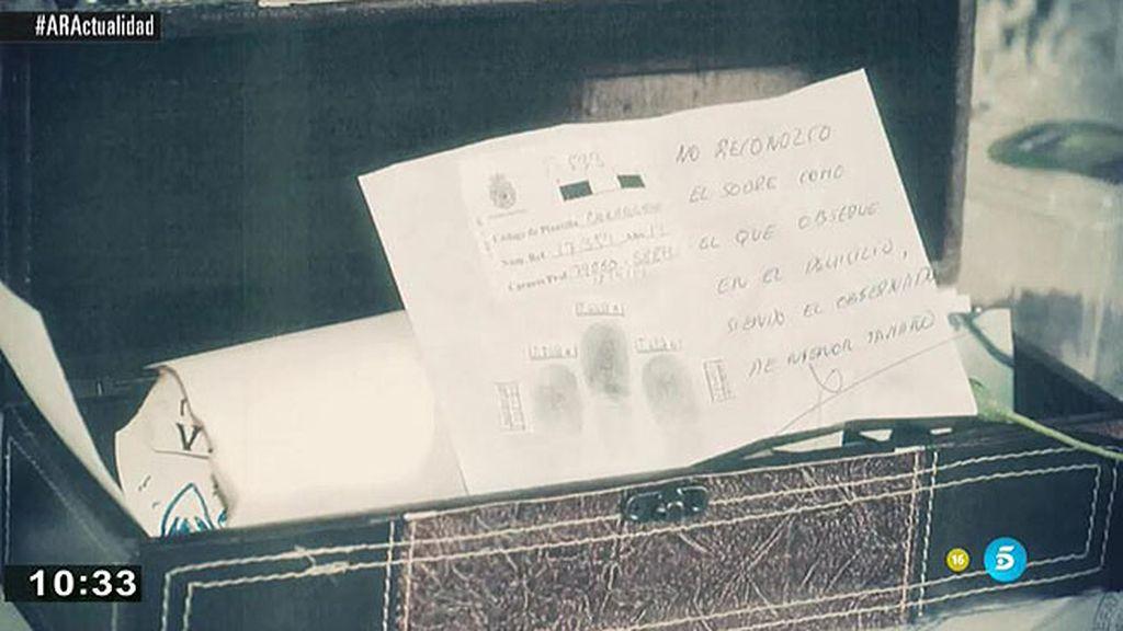 La Comisaria de Carabanchel cree que fue destituida por no destruir expedientes