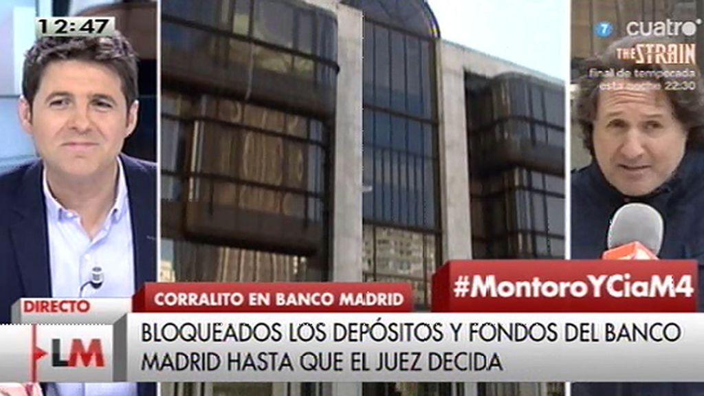 """Fernando, con 740.000€ atrapados en el Banco Madrid: """"Estoy harto, me voy a hacer bandolero"""""""