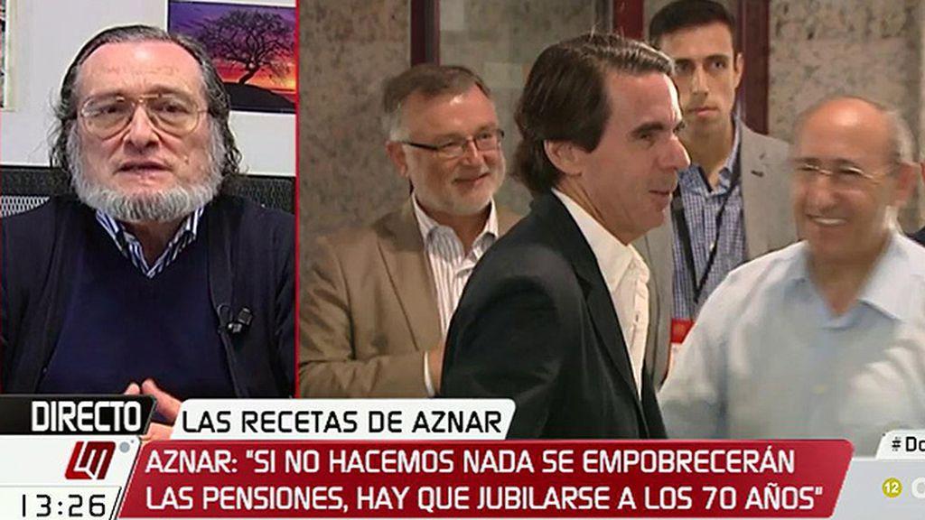 """Santiago Niño Becerra: """"Poner como regla la jubilación a los 70 tiene poco sentido"""""""