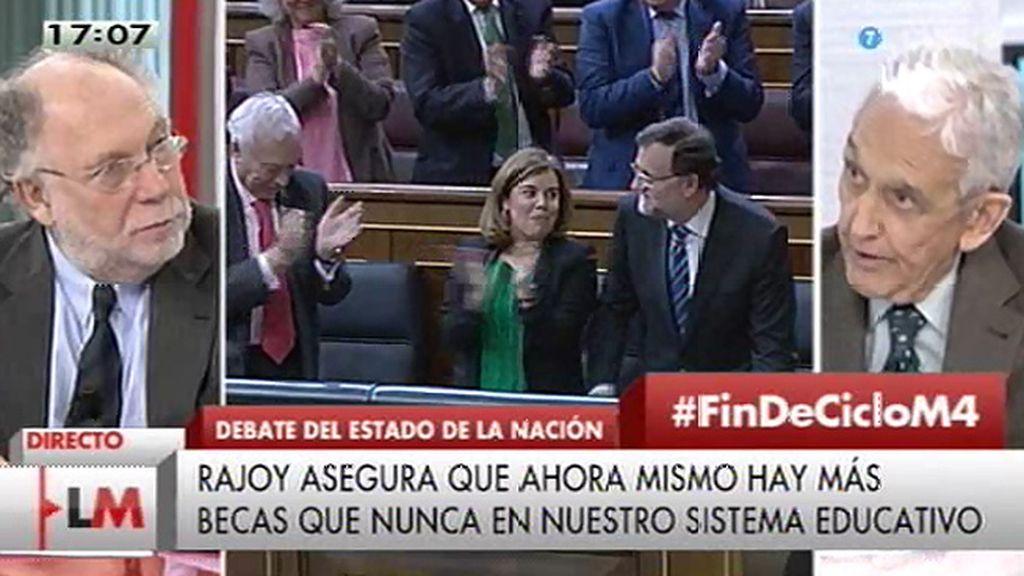 """Pedro Schwartz: """"Los sueños de Sánchez nos llevarán a la misma situación que antes"""""""