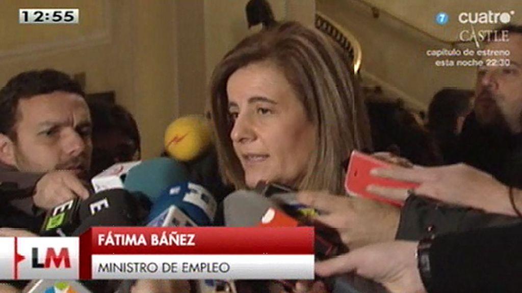 "Báñez: ""2014 ha sido el año del empleo"""