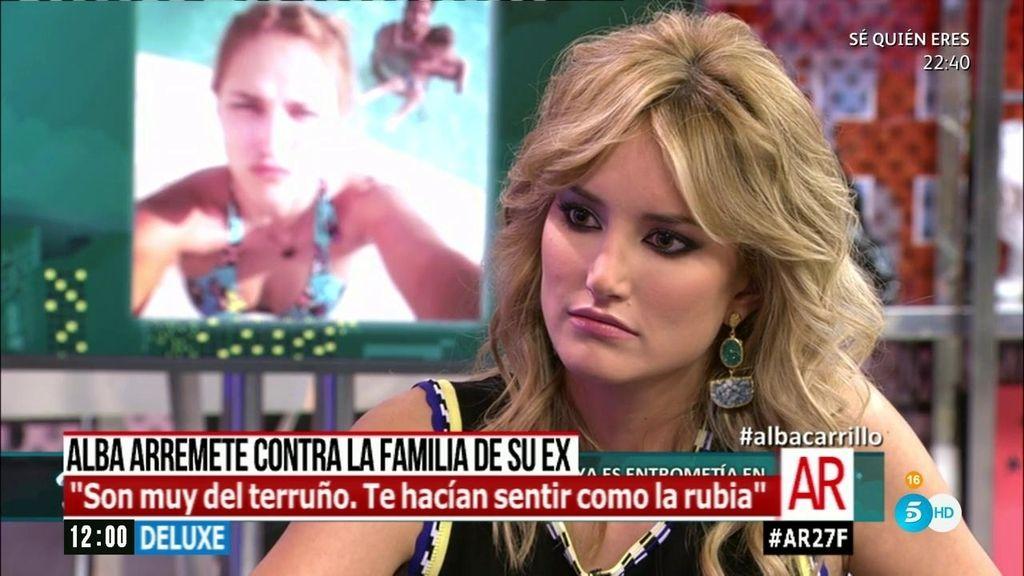 """Alba Carrillo, sobre Feliciano: """"He llegado a sentir asco por él"""""""