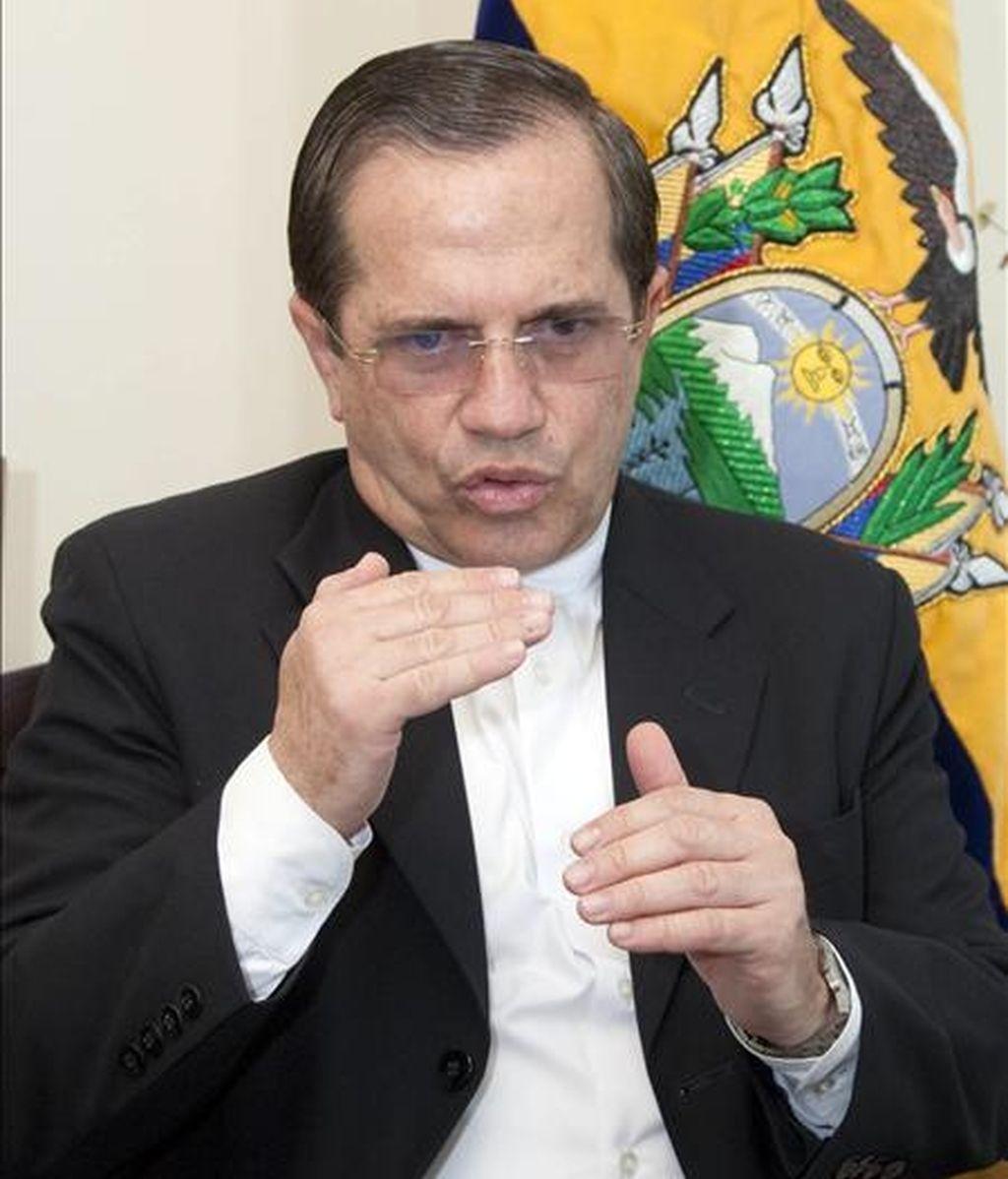 """El canciller de Ecuador, Ricardo Patiño, denunció que muchos países son """"convidados de piedra"""" en la ONU y la actual capacidad de veto de algunos Estados es """"inadmisible"""". EFE"""