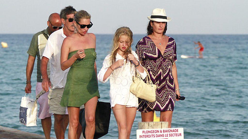 Kate Moss en Saint Tropez