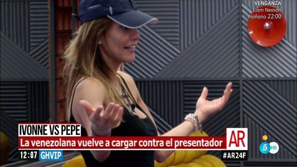 """Ivonne Reyes, de Pepe Navarro: """"Lo que hace es para no morir nunca tranquilo"""""""