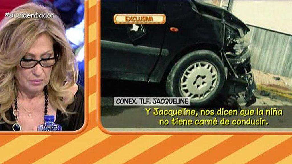 Jacqueline confirma que fue su hija quien conducía el coche de Rosa Benito