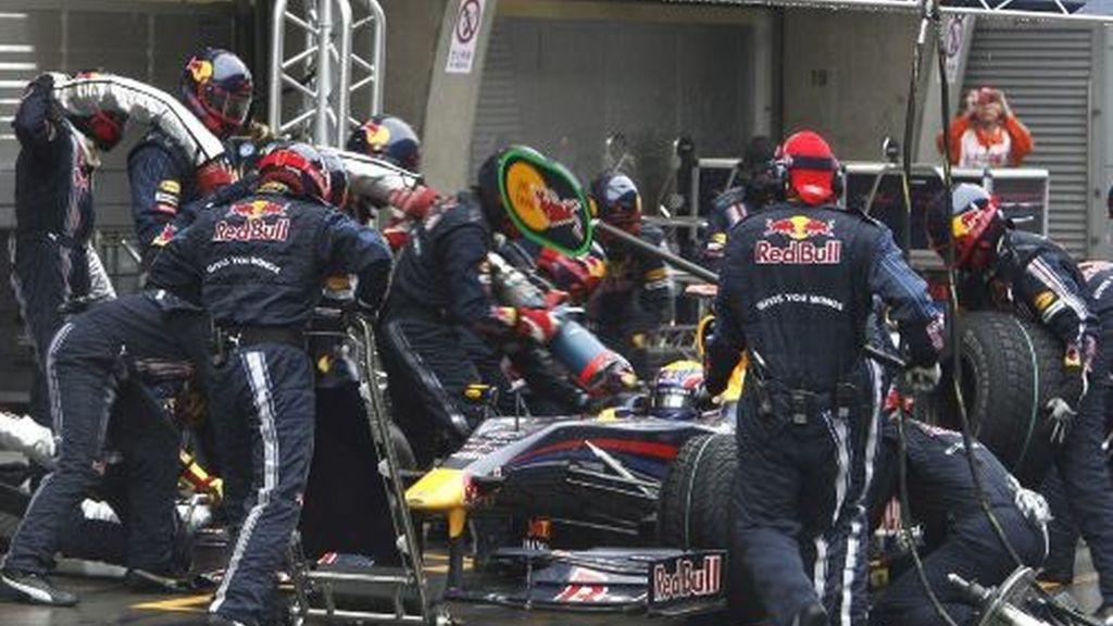 El equipo de Red Bull trabajará duro para poder incorporar el difusor a los monoplazas. Foto: EFE