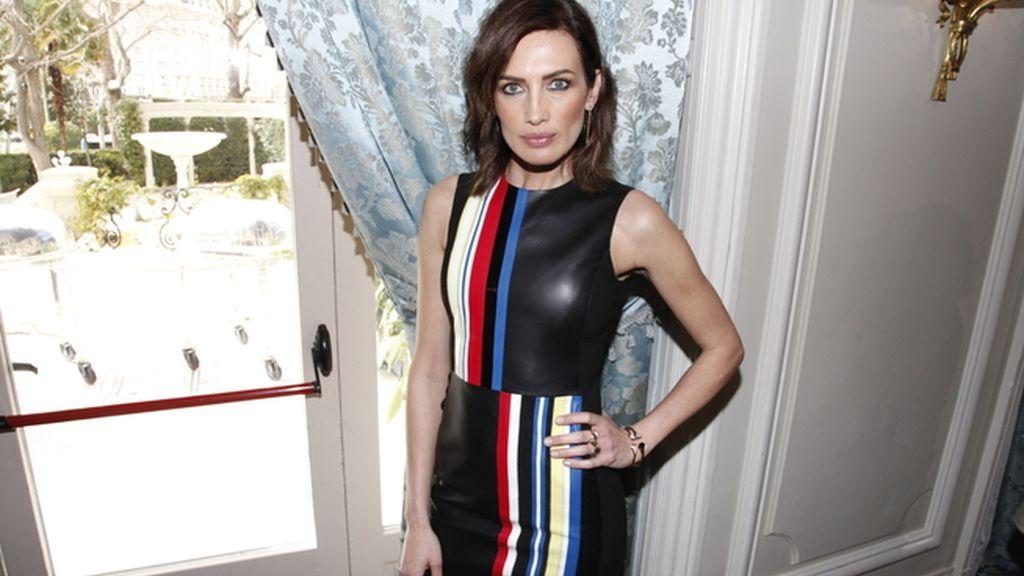 Nieves Álvarez fue la presentadora de los premios Glamour Belleza