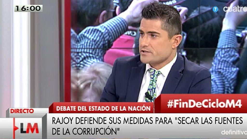 """Alfonso Merlos, de Rajoy: """"Creo que se ha mostrado esencialmente realista"""""""