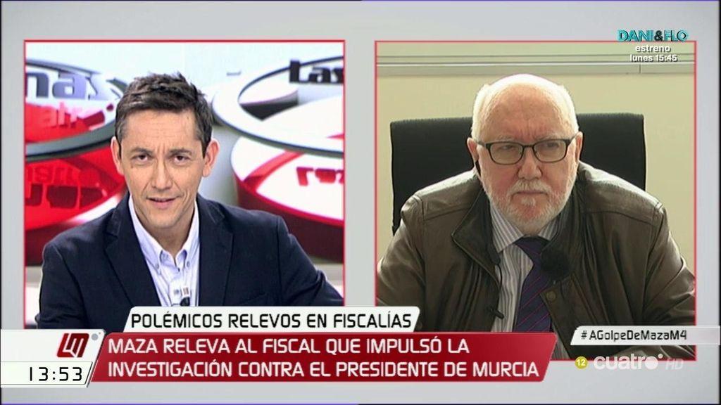 """López Bernal: """"Hay que hacer más para defender la independencia de los fiscales"""""""