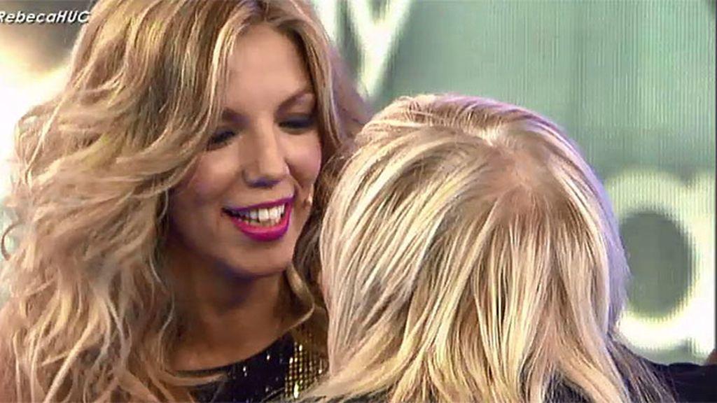 """Rebeca, a su madre: """"Eres una madre espectacular y mi mejor amiga"""""""