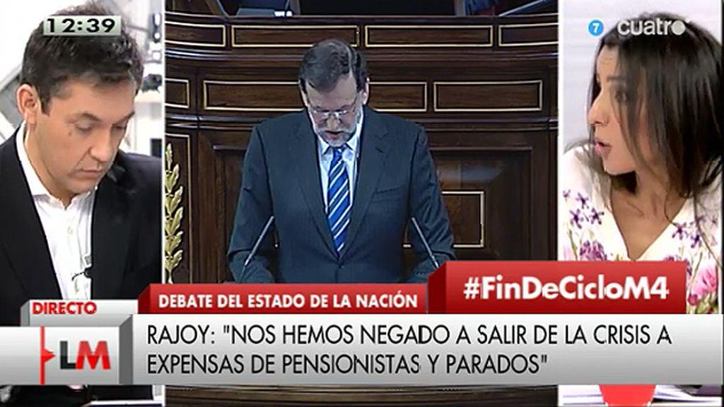 """Morodo: """"Rajoy habla tanto de Podemos porque no les quiere como segunda fuerza"""""""