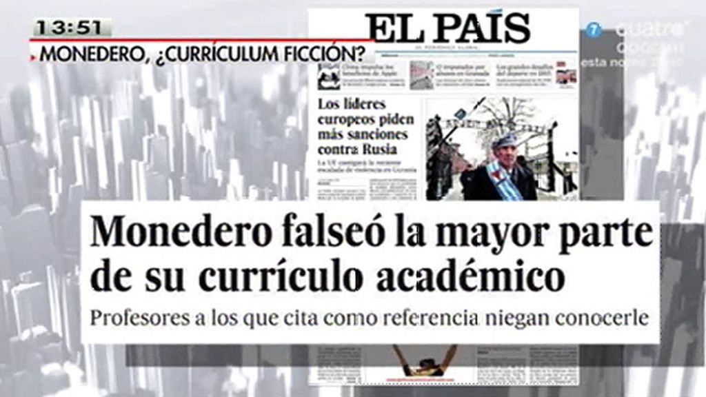 La polémica con el currículum de Monedero
