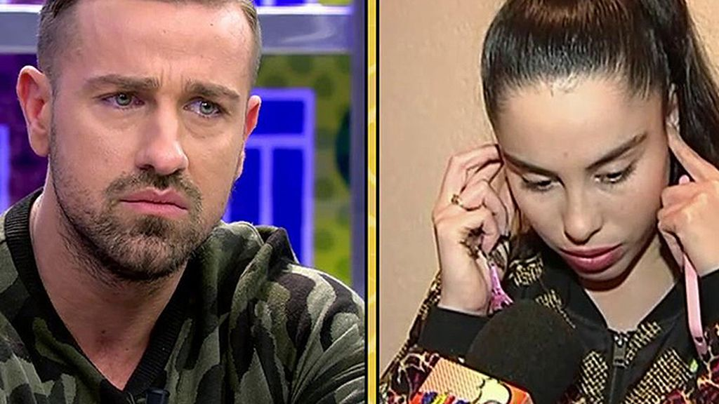 La primera conversación de Rafa Mora y Macarena tras la ruptura en el 'PoliDeluxe'
