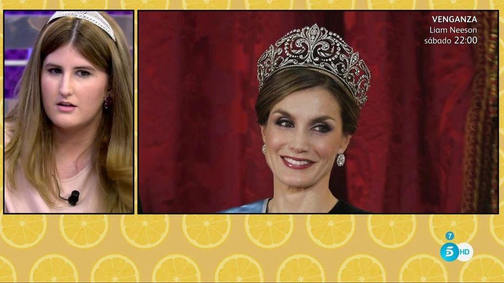 Nuria Tiburcio nos muestra las joyas más valiosas de la corona