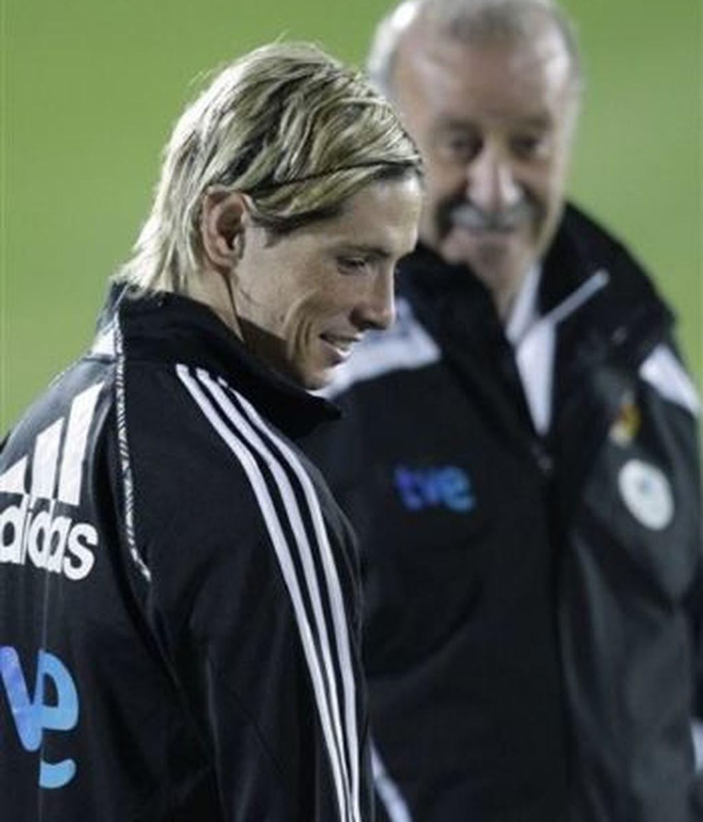 Torres podría no estar ante Sudáfrica. Foto: AP