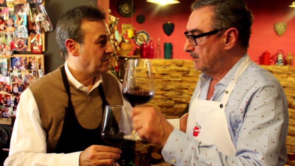 José Ribagorda nos enseña a hacer un arroz radiofónico único... por Carlos Herrera