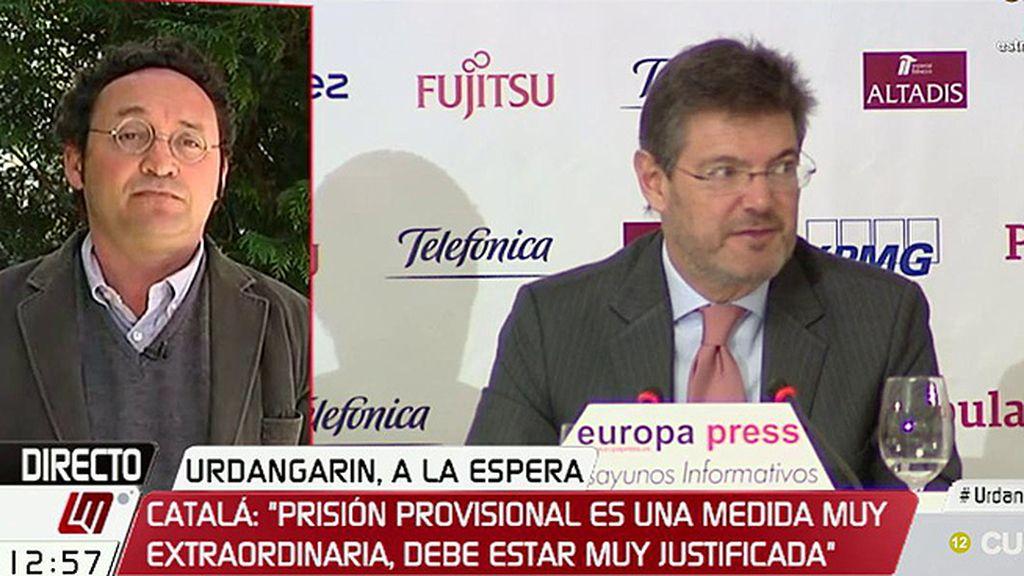 """Álvaro García Ortiz, del ministro de Justicia: """"Se podría haber ahorrado cualquier comentario sobre una actuación jurídica"""""""