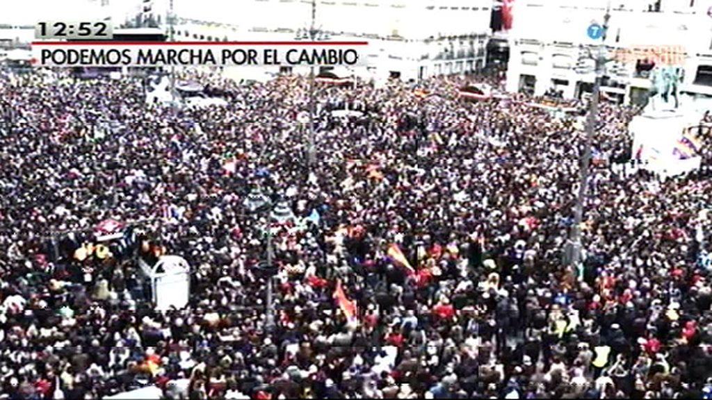 Así fue la 'Marcha del cambio'