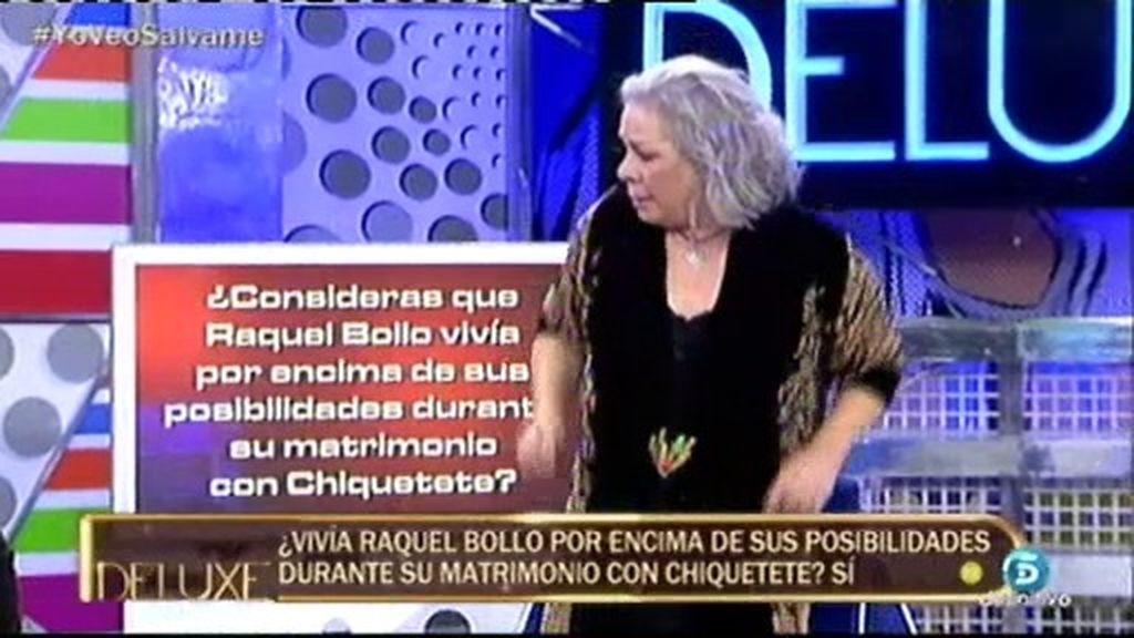 """Carmen Gahona: """"Raquel Bollo siempre fue una 'palmera' de 'Chiquetete"""""""
